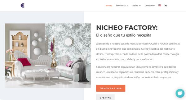 Tienda en línea - Nicheo Factory