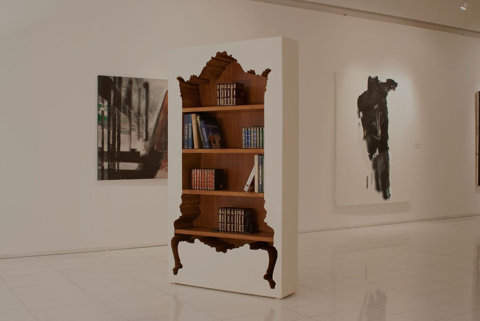 Cinco libreros de diseño ideales para espacios creativos