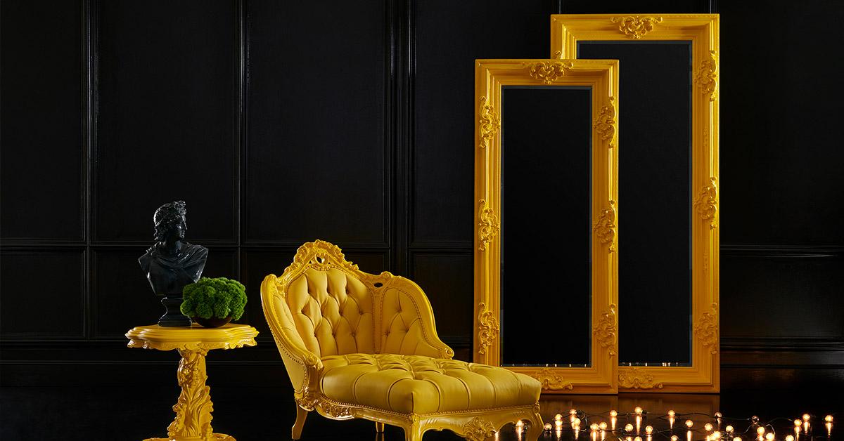 Espejo-amarilla